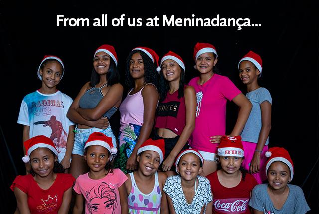From all of us at Meninadança...