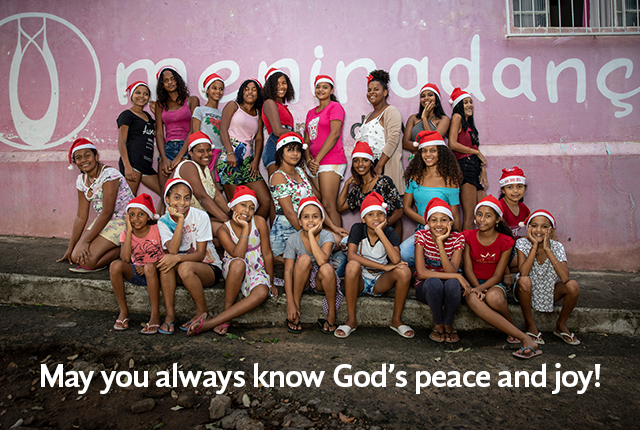 May you always know God's peace and joy!